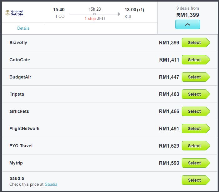 Skyscanner-Recommend