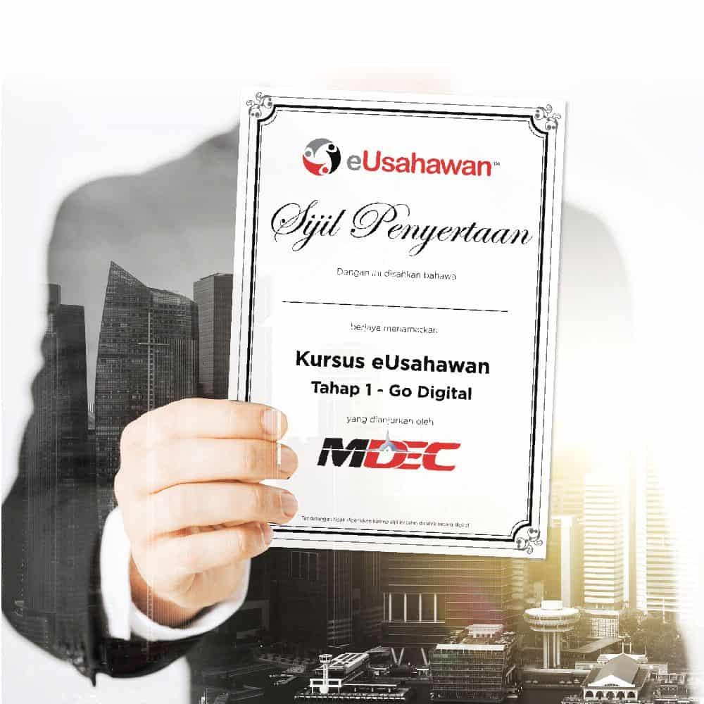eUsahawan course certificate