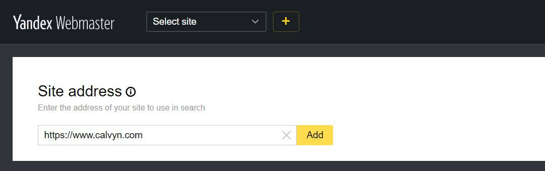How to Submit Website to Yandex
