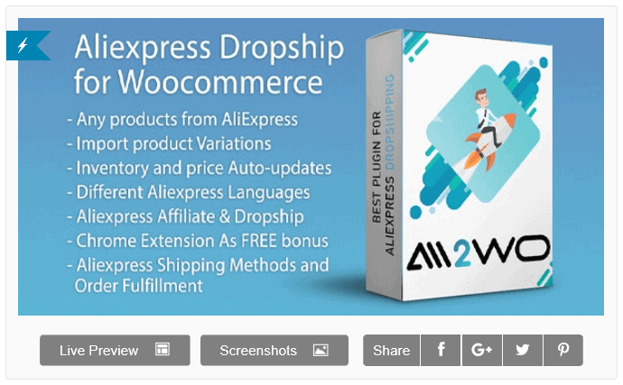 Aliexpress Dropship For Woocommerce Discount