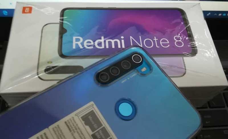 Redmi Note 8 Blue