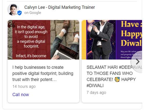 Google My Business Post